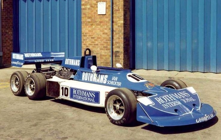For 1977 the car received an early version of the iconic Rothmans livery.