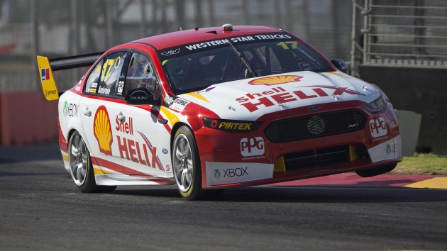 Marcos Ambrose started 2015 in DJR Team Penske's only car