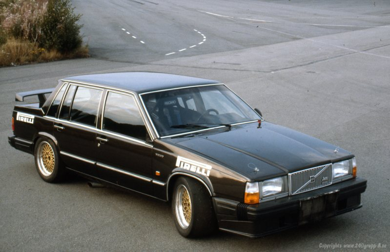 Bricked In - 1983 Volvo 760 Turbo Group A Prototype — Carmrades