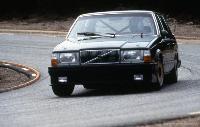 Ulf Granberg during testing.