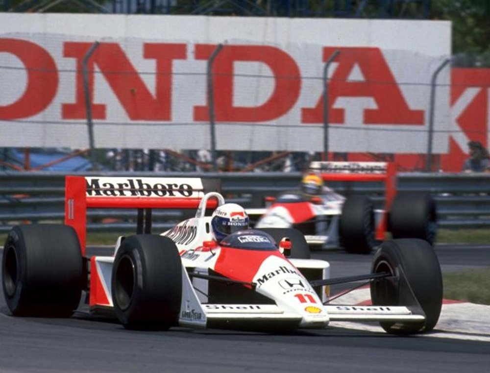 The last turbocharged season was commandeered by the amazing McLaren MP4/4, winning 15/16 races.