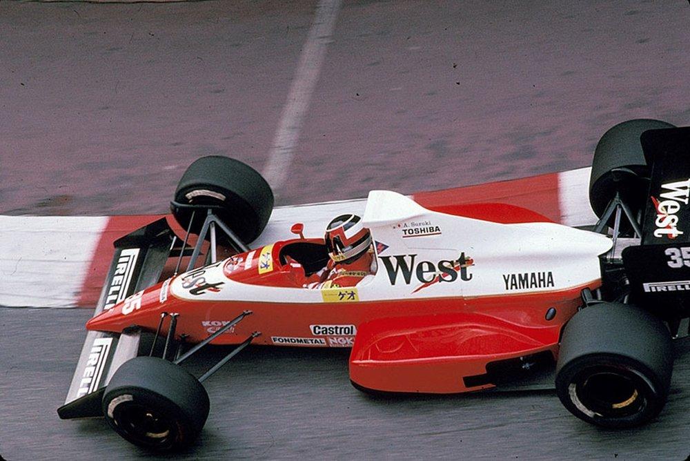 Aguri Suzuki, 1989 Pre-Qualifying 1989 Monaco Grand Prix.