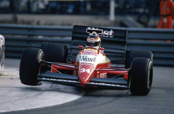 Bernd Schneider, Pre-Qualifying 1989 Monaco Grand Prix.