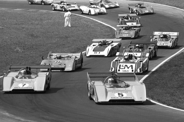 The giants of the original Can Am era disappeared after 1974.