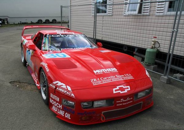 The ZR-1 had a massive presence.