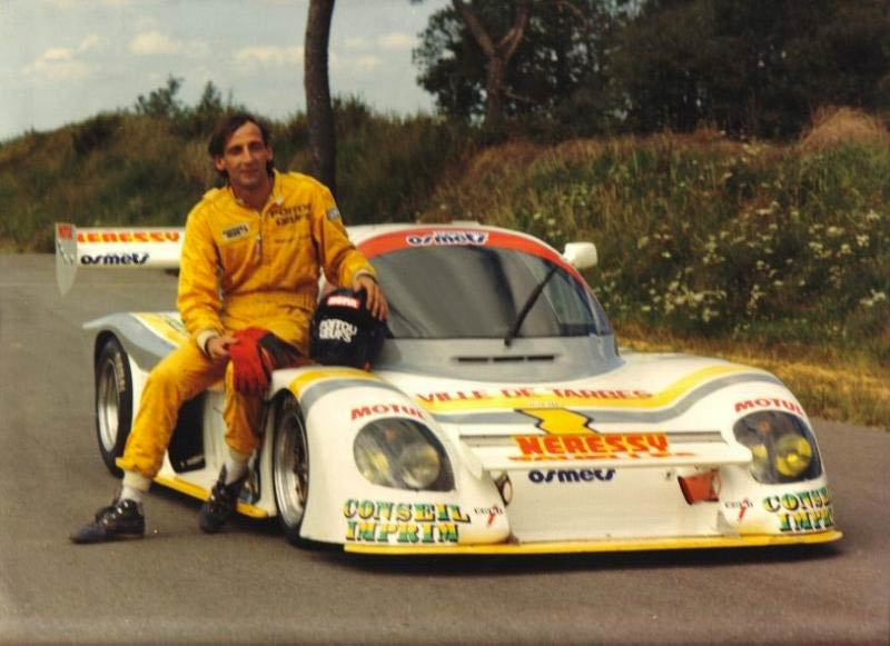 Norbert Santos and the Norma M5, 1985.