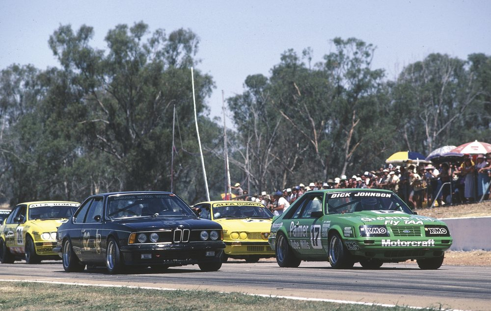 Jim Richards won the first Group A ATCC race at Winton in 1985