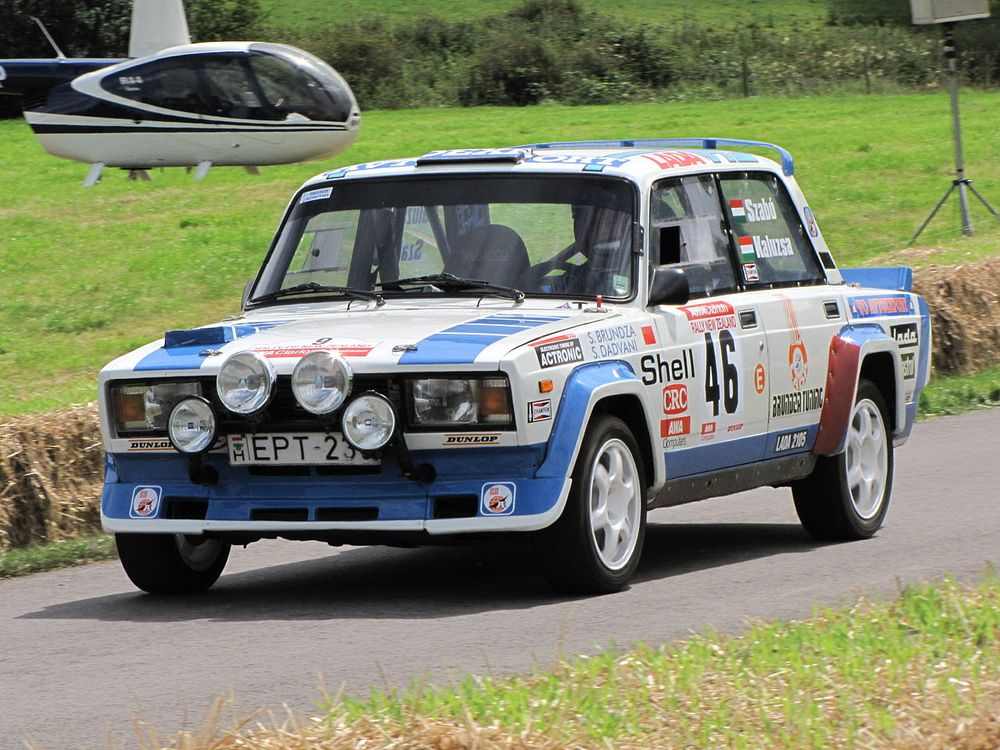 The Lada 2105 VFTS was the first competent Soviet rally car to regularly appear on the global rally stage.