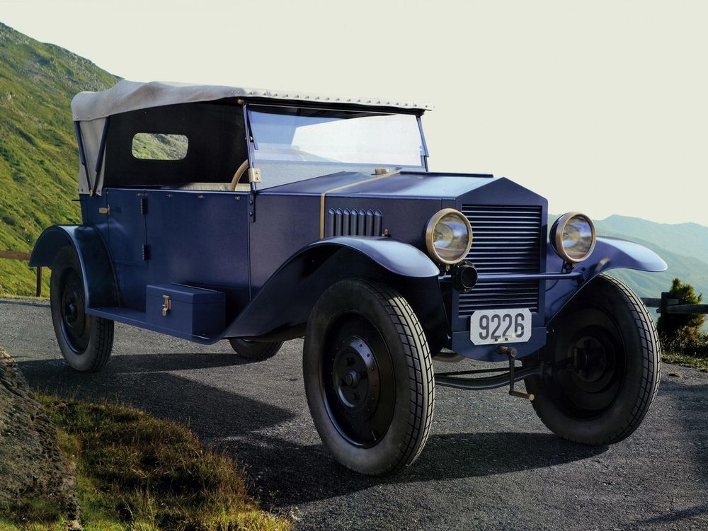 NAMI-1, the Soviet Union's first automobile.