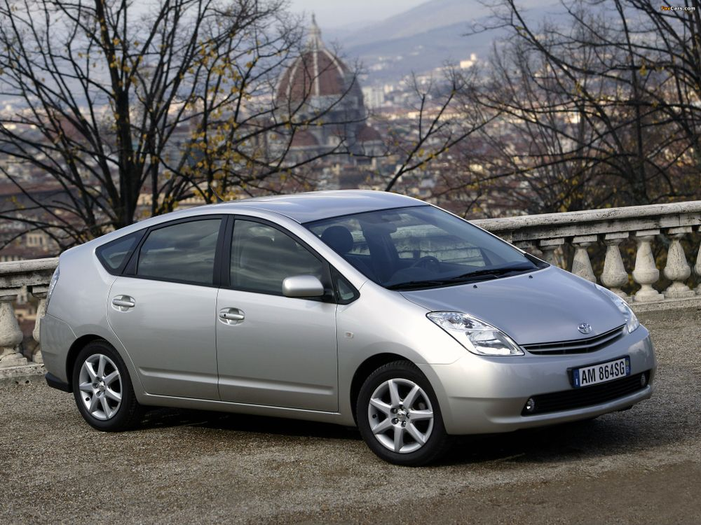 The second generation Prius represented a major breakthrough for Toyota