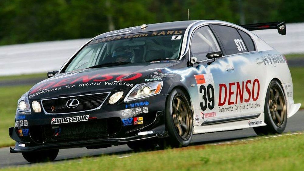 The Super Taikyu Lexus GS450h was Toyota's first careful foray into hybrid racing.