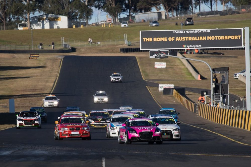 Few people watch production car racing in Australia