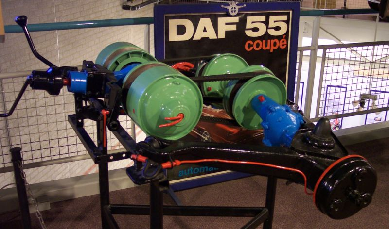 The DAF Variomatic system.