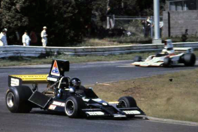 KB's Brabham Chevrolet BT43 F5000 car