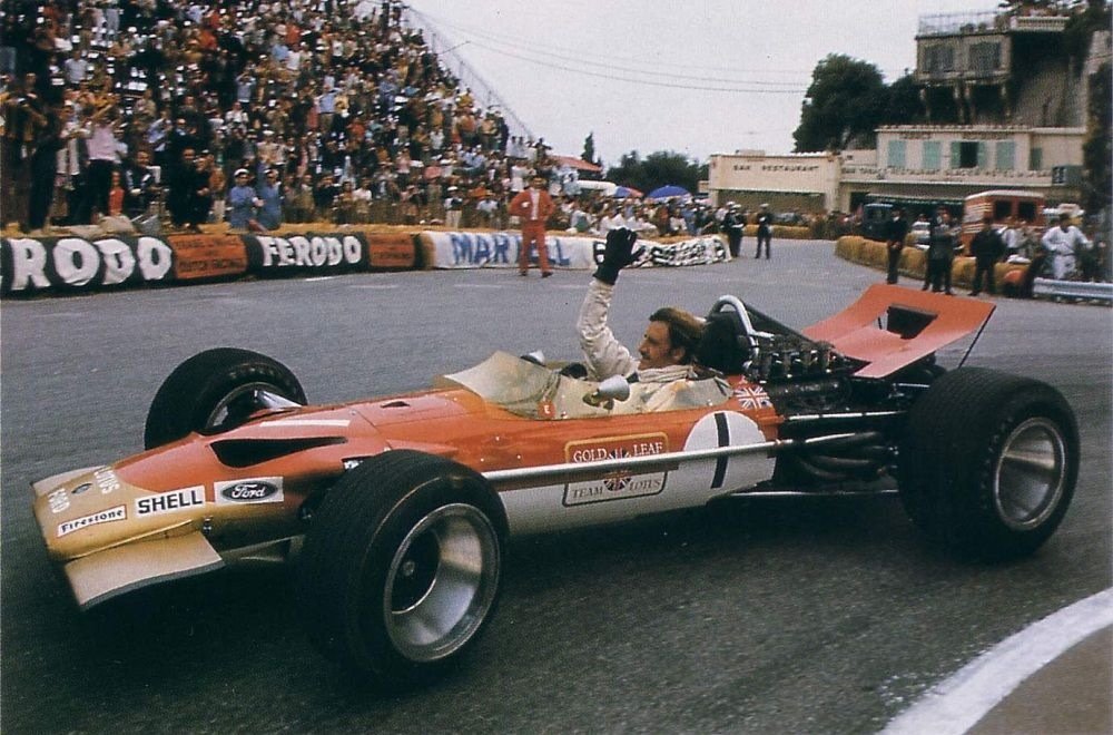 Ironically it was Lotus who introduced the wings at the 1968 Monaco Grand Prix.