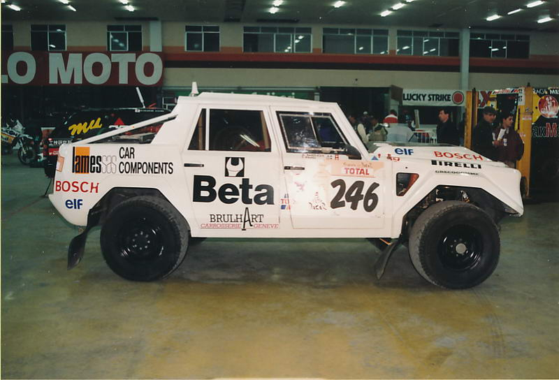 Andrea Barenghi's Dakar LM002.