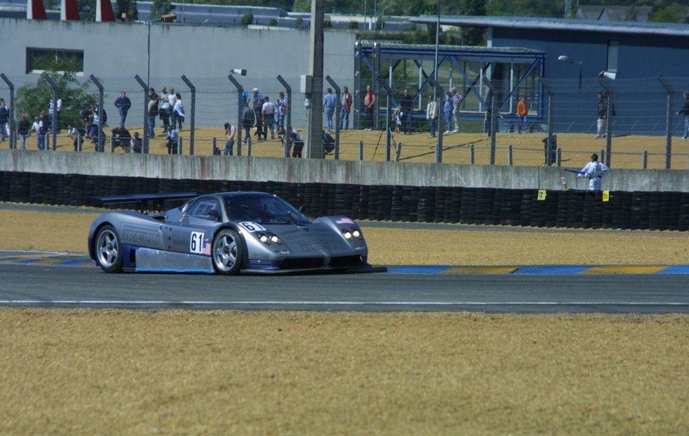 Le Mans Test, 2003.