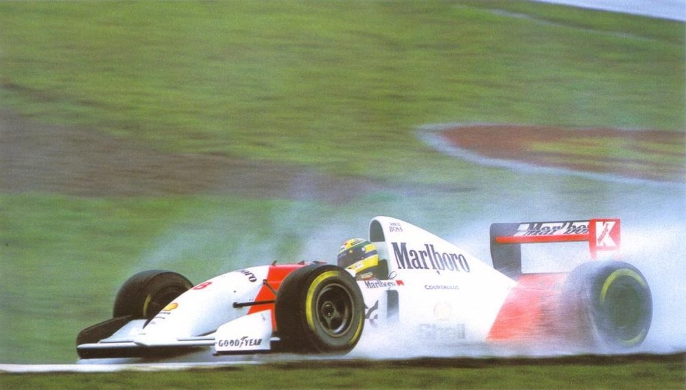 e83a3aed725 Communication Breakdown - 1993 McLaren MP4 8 Ford — Carmrades