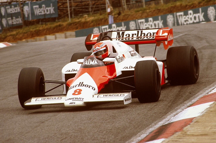 Niki Lauda put an end to McLaren's long slump in 1984.