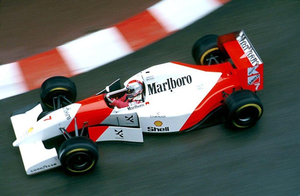 Michael Andretti, Monaco 1993.