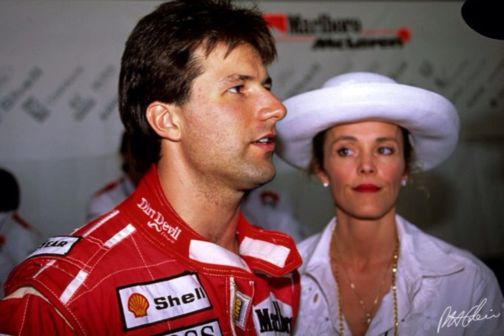 Michael Andretti had a difficult time as a rookie in Formula One.