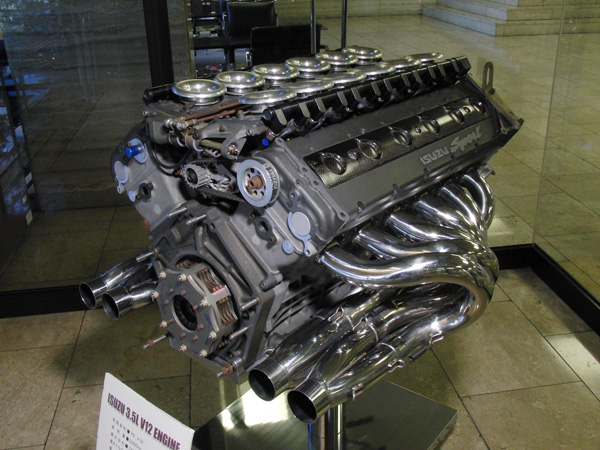 The single surviving Isuzu P799WE V12.