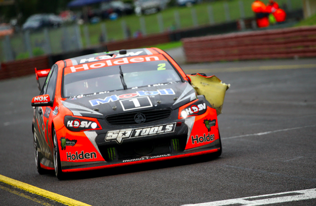 Tander was dropped just as he was winning again