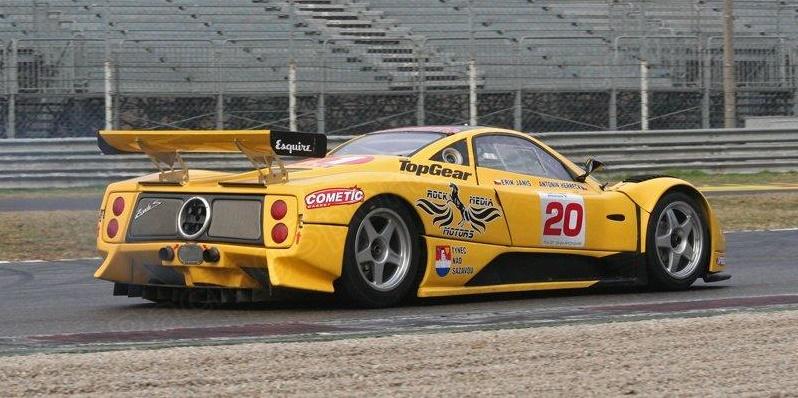 FIA GT Championship Test, Monza 2007.