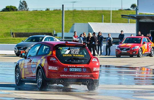 The Safe Driver Program conducted at Sydney Motorsport Park
