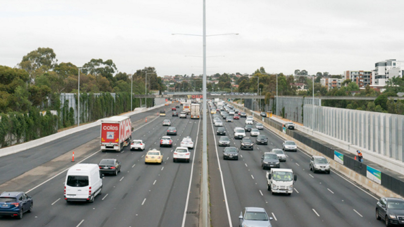 The Tullamarine Freeway