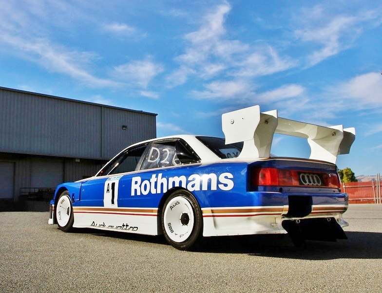 Another big departure from the 90 IMSA GTO was the S4's massive rear wing.