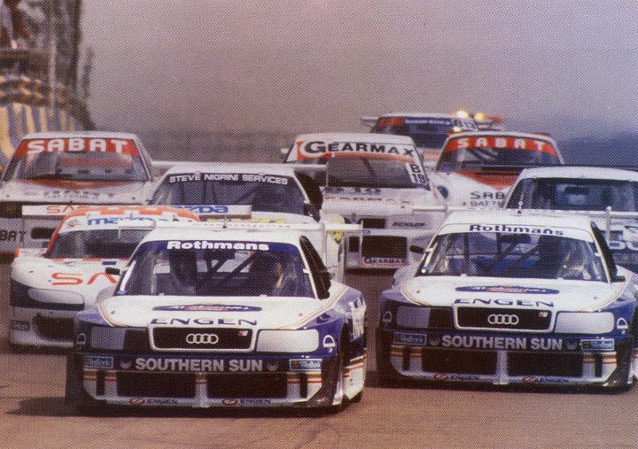 Predictably, Audi's South African adventure resulted in instant domination by the four wheel drive monsters.