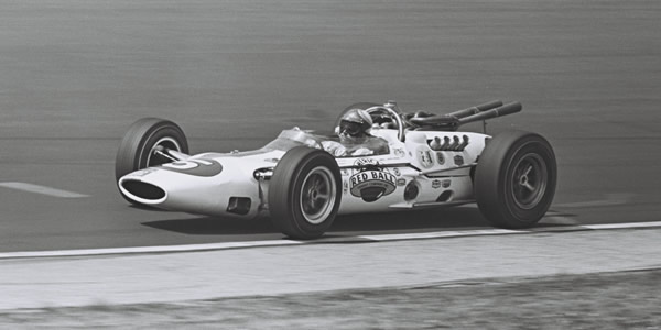 Bud Tingelstad in the ill-fated Lola T80 Indycar