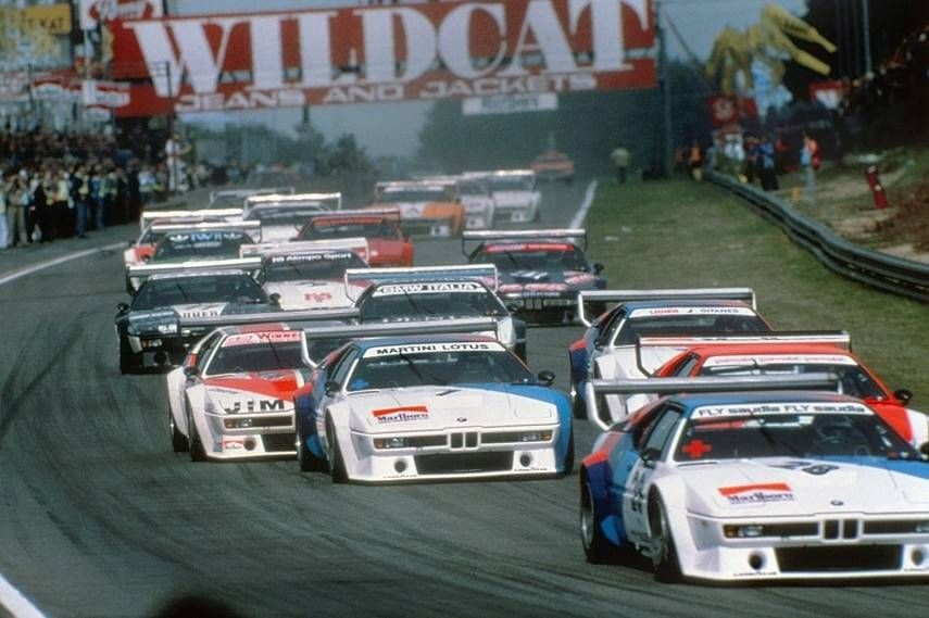 The BMW M1 Procar series was tremendously exciting to watch.