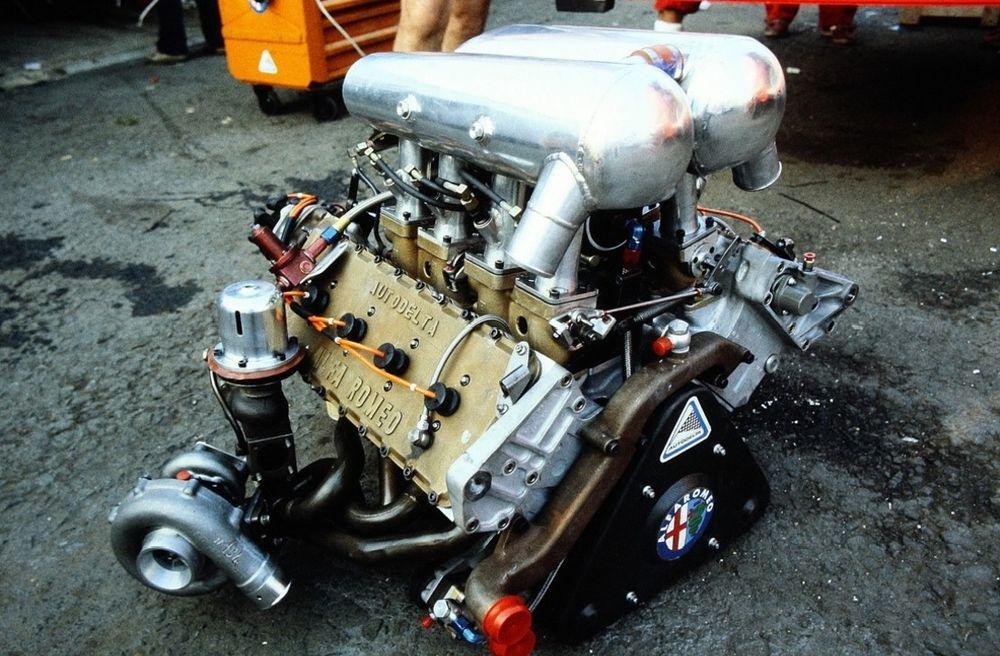 The turbo era was not very kind to Alfa Romeo.