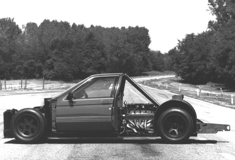 The ProCar was essentially an F1-car with door handles.