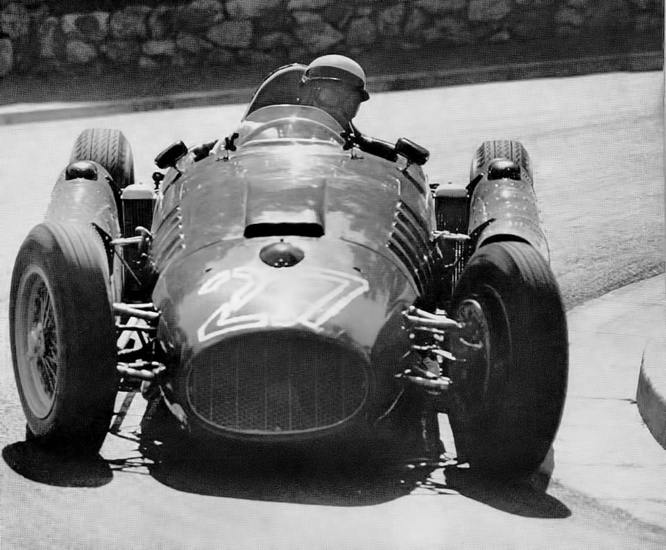 Eugenio Castellotti drove a fabulous race at Monaco.