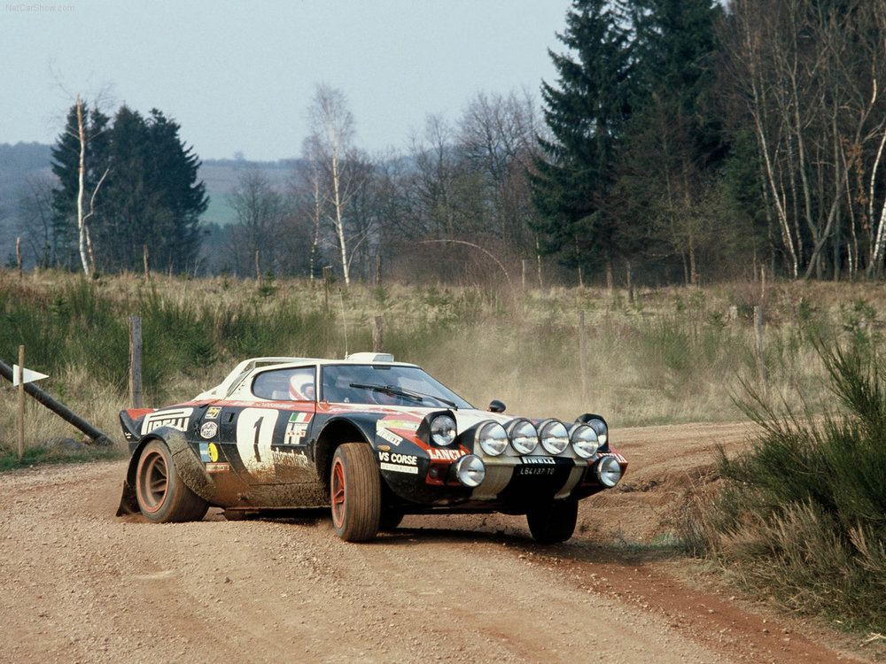 In rallying the Stratos was virtually unbeatable.