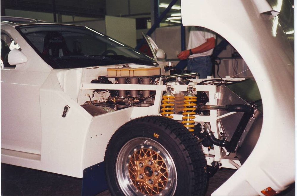 Contrary to most Group S designs, the RX7S was front-engined.