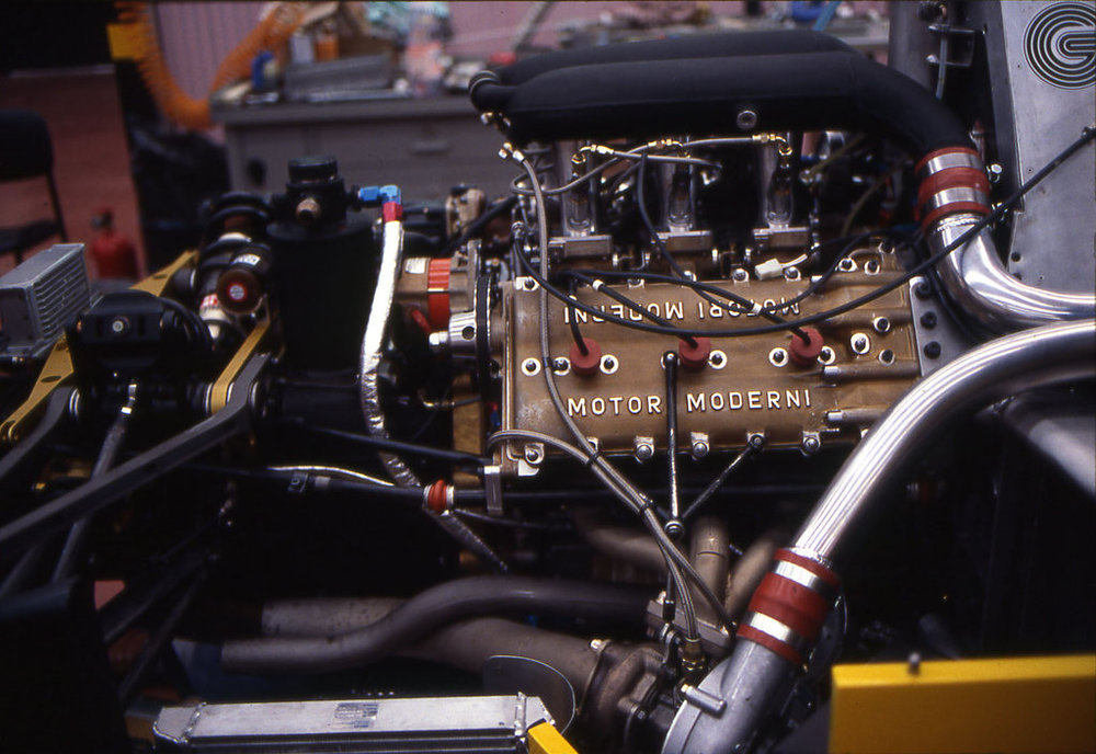 The Motori Moderni engine took too long to complete.
