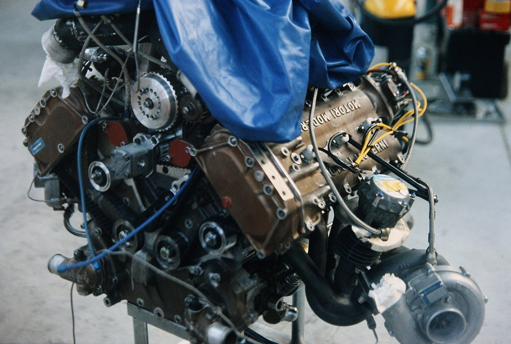 The promise of Carlo Chiti's Motori Moderni engine failed to materialize.