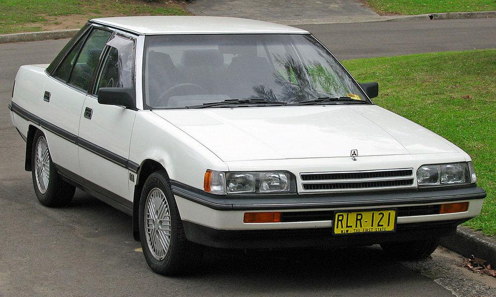 1988 mitsubishi magna