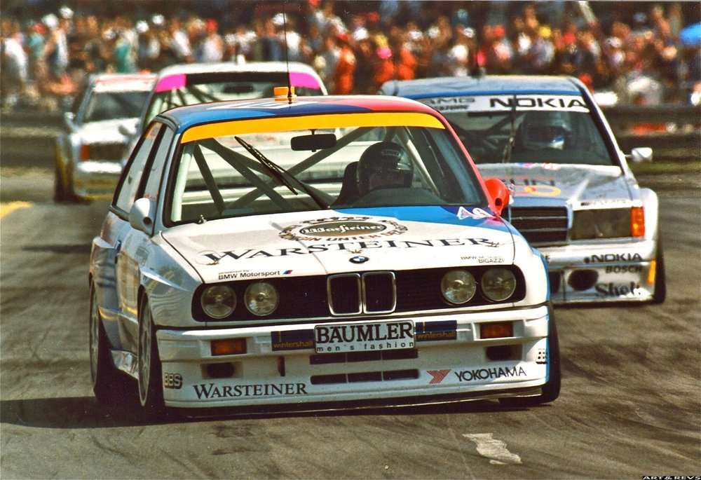 DTM's established front runners were much lighter and smaller cars.