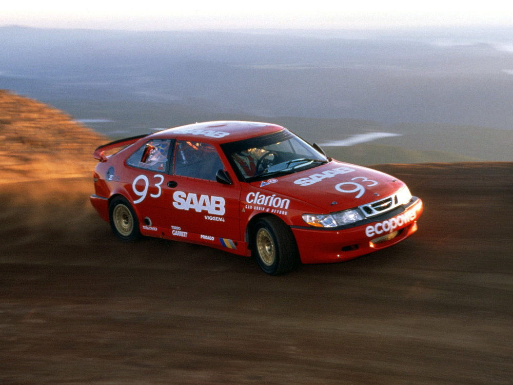 Per Eklund was somewhat out of his element at Pikes Peak.