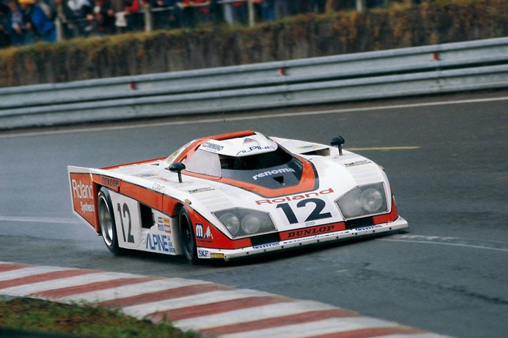 On the European scene, Dome had made a name for itself with striking endurance prototypes like this Zero RL.