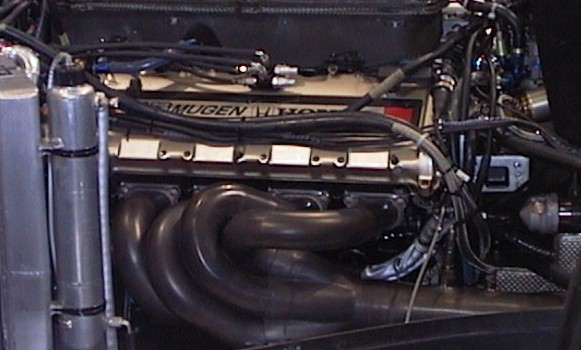 The Mugen-Honda MF-301H V10 promised respectable mid-field performance.