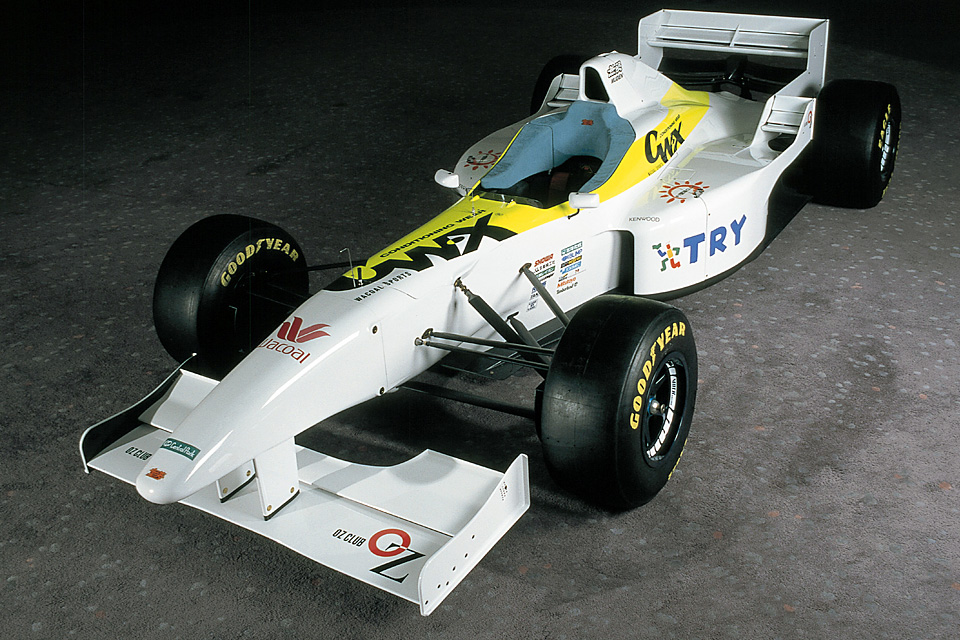 The F105i's aero package simply followed the trends of the time.