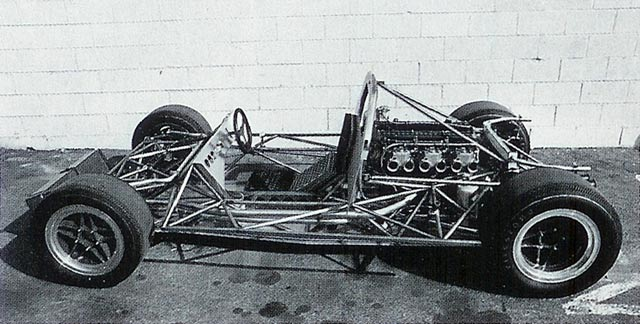 Trevor Harris helped make the JP6 chassis one of the most innovative of its generation.