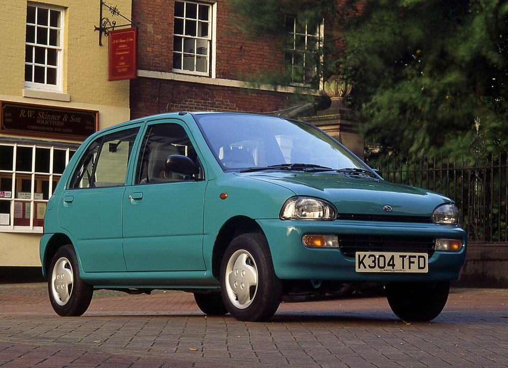 The Vivio took Subaru's Kei-car program to new heights.