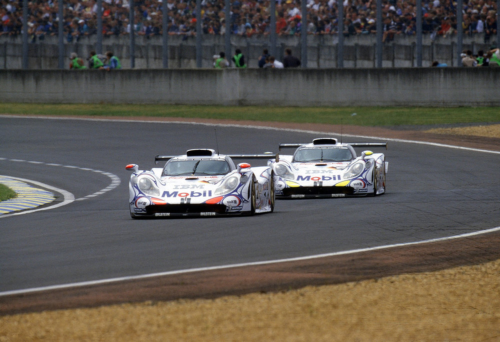 The 911 GT1-98 added another win to Porsche's immense tally in 1998.